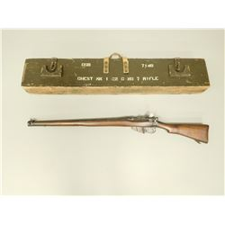 LEE ENFIELD , MODEL: MK III CONVERTED TO 22 TRAINER  , CALIBER: 22 LR