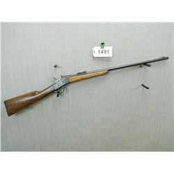 REMINGTON , MODEL: ROLLING BLOCK    , CALIBER: 8MM ??? BORE MEASURES 8MM BUT UNABLE TO DO A CHAMBER