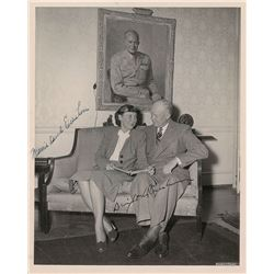Dwight and Mamie Eisenhower