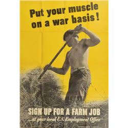 World War II Poster: Farm Labor