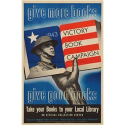 World War II Posters: Victory Book Campaign