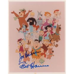Bill Hanna and Joe Barbera