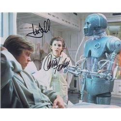 Star Wars: Fisher and Hamill