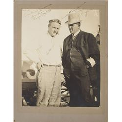 James J. Jeffries and Barney Oldfield