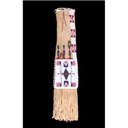 Excellent Lakota Sioux Beaded Tobacco Pipe Bag