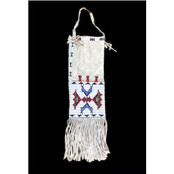 Lakota Siouz Beaded Pipe Bag circa 1890
