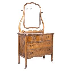 Buffalo Bills Irma Hotel Oak Vanity Dresser c1902-