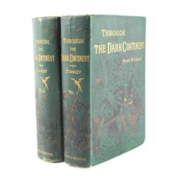 Through the Dark Continent by Stanley 1879 w/ Maps