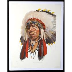 David Humphreys Miller - Black Elk Portrait AP