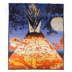 Pendleton Beaver State Full Moon Lodge Blanket