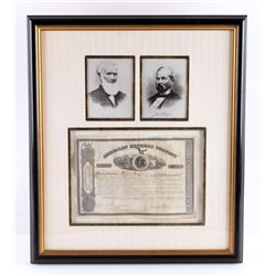 Henry Wells & James Fargo Signed Stock Certificate