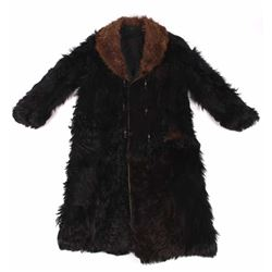 Stagecoach Driver Bear & Buffalo Fur Coat 19th