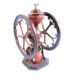 Star Mill No. 9 Cast Iron Coffee Grinder w/ Eagle