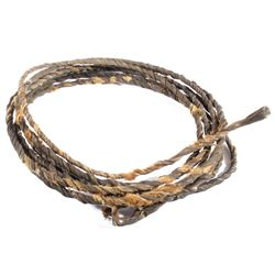 Unusual Rawhide Braided Lariat