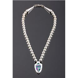 David Rosales Navajo Sterling Silver Necklace