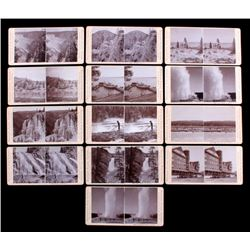 Haynes Yellowstone Park Stereoview Collection