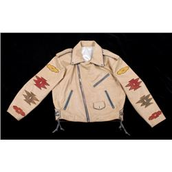 D.B.A. Hand Cut Chief Design Leather Jacket