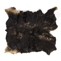 Large Trophy Tanned Montana Moose Hide