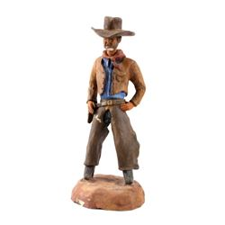Original G.C. Wentworth Cowboy Sculpture