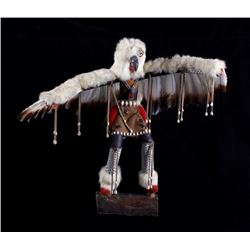 Large Hopi Eagle Dancer Kachina by Bertha Benally