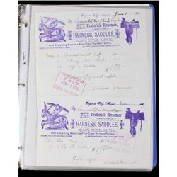 Early Montana Ghost Town Ephemera Collection