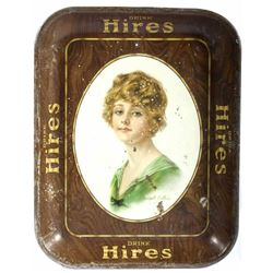 Antique Hires Root Beer Serving Tray c. 1917