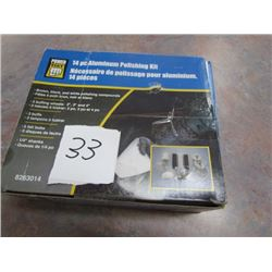 Aluminum Polishing Kit - NEW