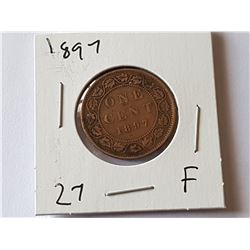 1897 Large Penny
