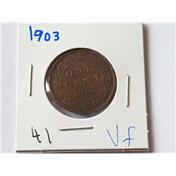 1903 Large Penny