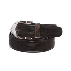 Louis Vuitton Black Epi Leather Classique Belt