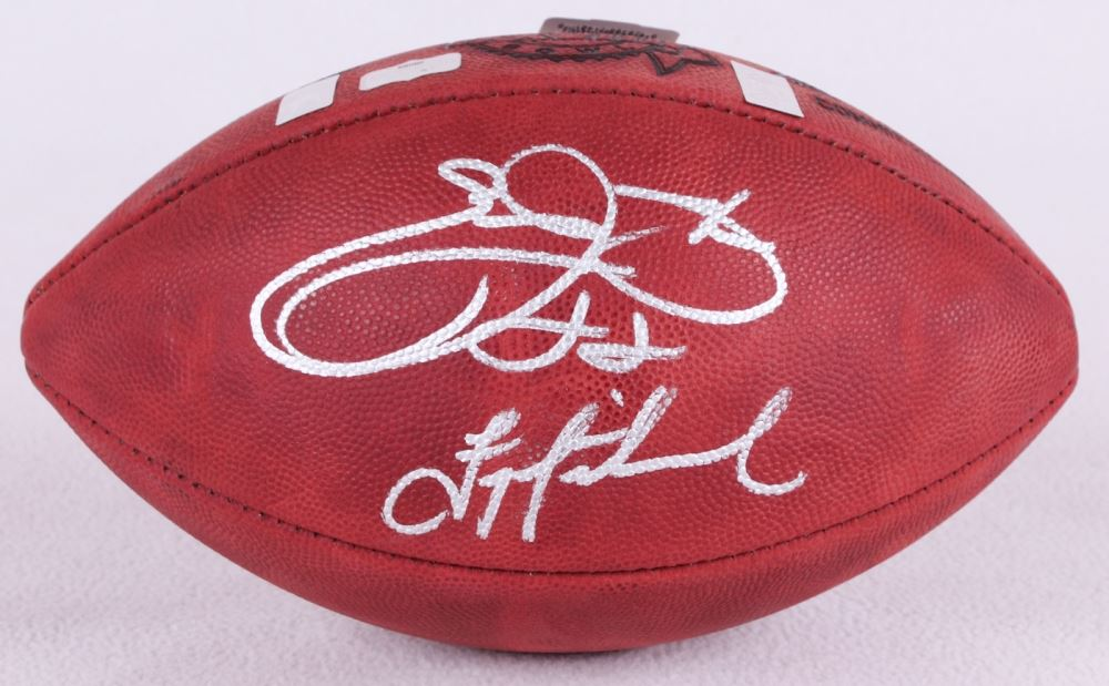 84e06dc78 Image 1   Emmitt Smith Troy Aikman Signed Super Bowl XXVIII NFL Official  Game Ball (