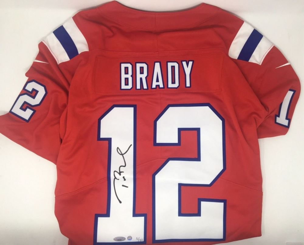 tom brady limited edition jersey