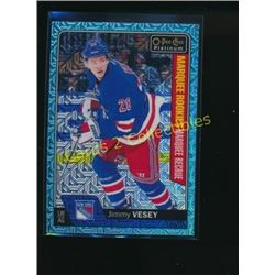 16-17 O-Pee-Chee Platinum Ice Blue Jimmy Vesey