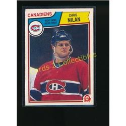 83-84 O-Pee-Chee #194 Chris Nilan RC