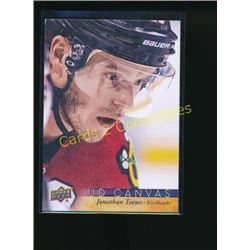17-18 Upper Deck Canvas #C21 Jonathan Toews