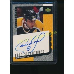 00-01 UD Legends Epic Signatures Cam Neely