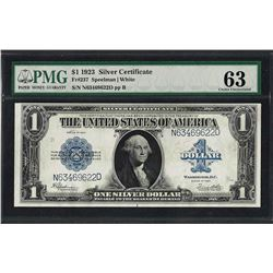 1923 $1 Silver Certificate Note Fr.237 PMG Choice Uncirculated 63