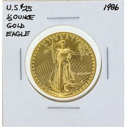 1986 $25 American Gold Eagle Coin