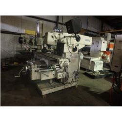 Cincinnati Milacron 2MK Horizontal Mill w/ Toolmakers Overarm & Univ Head