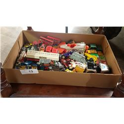TRAY LOT OF DIE CAST TOYS