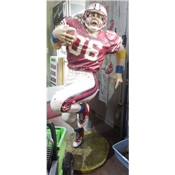 FOOTBALL PLAYER STATUE