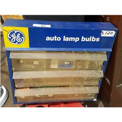 GE AUTO LAMP DISPLAY CABINET