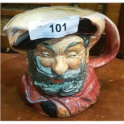 LARGE ROYAL DOULTON FALSTAFF CHARACTER MUG