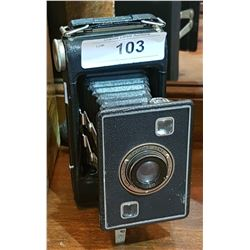 VINTAGE BELLOWS POCKET CAMERA