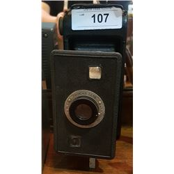 ANTIQUE POCKET BELLOWS CAMERA