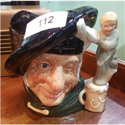 LARGE ROYAL DOULTON TAM O SHANTER CHARACTER MUG