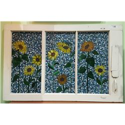 MOSAIC ART GLASS WINDOW