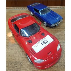 TWO DIE CAST CARS