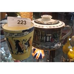 TWO PCS ROYAL DOULTON