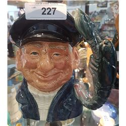 LARGE ROYAL DOULTON LOBSTERMAN CHARACTER MUG